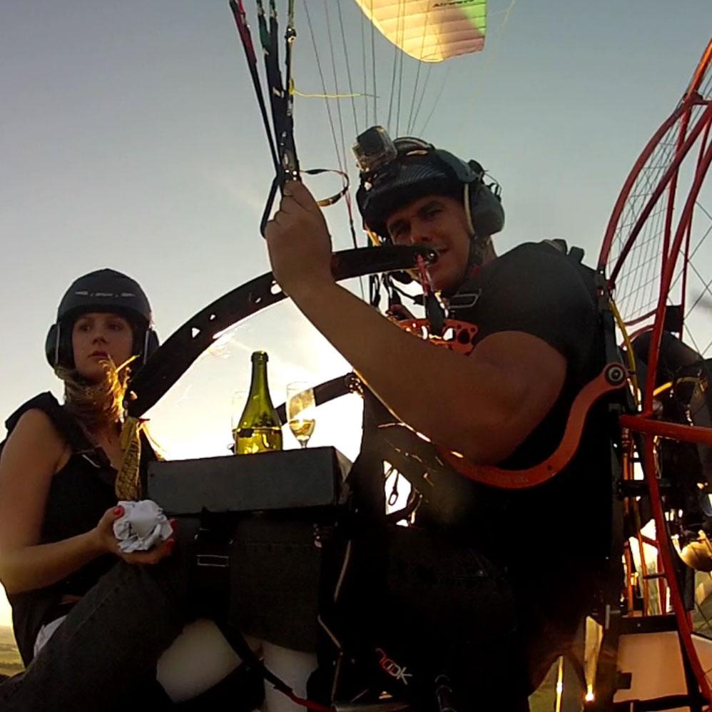 Noviazgo en la alturasEngagements in the heights