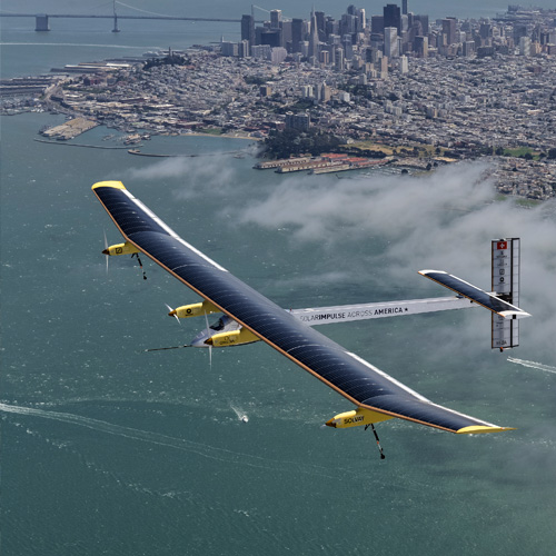 SOLAR IMPULSE ACROSS AMERICA