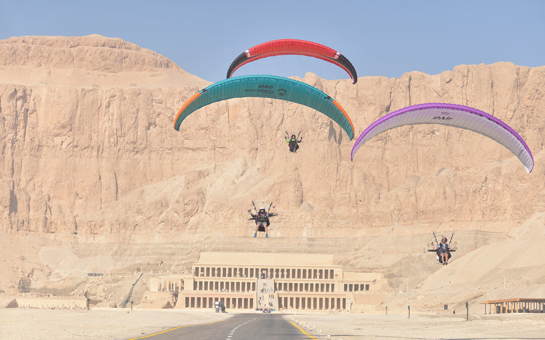 Luxor Ancient civilizations from the air
