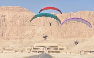 Luxor Antiguas civilizaciones desde el aire