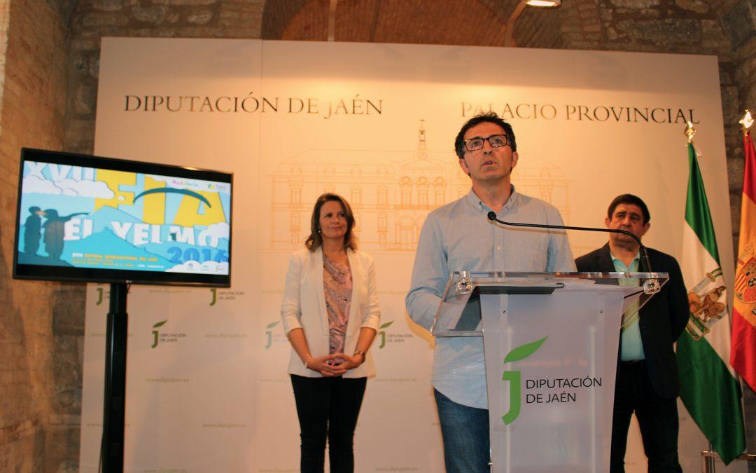 Presentación del El XVII Festival Internacional del Aire
