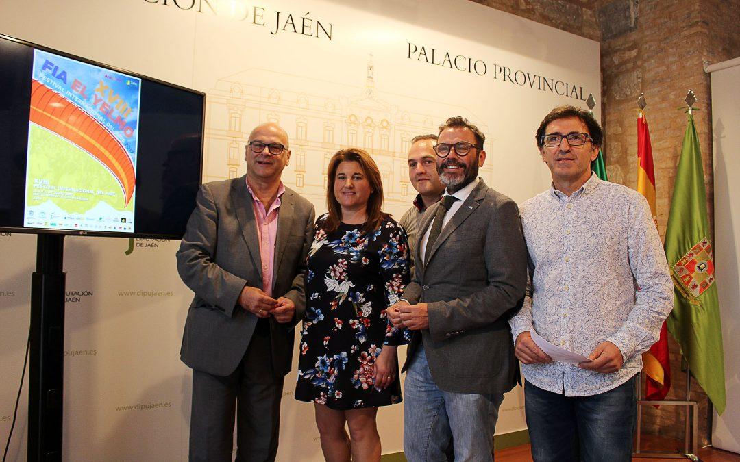 """Presentada la edición número 18 del Festival Internacional del Aire """"El Yelmo"""""""