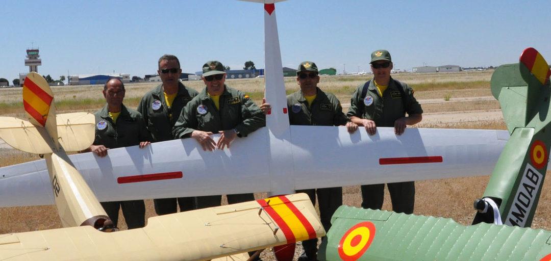"""La Patrulla de Aeromodelismo del Ejército del Aire realizará una exhibición en el XIX FIA """"El Yelmo"""""""