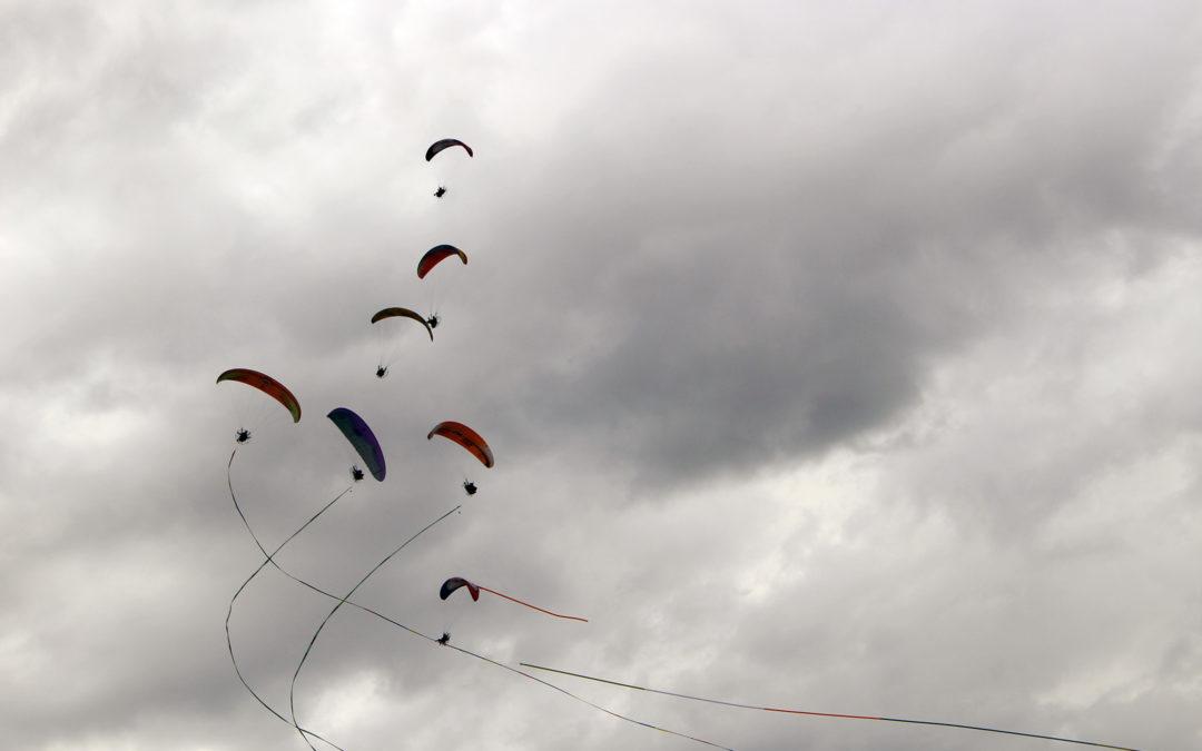 Comienza el XIX Festival Internacional del Aire